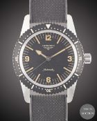 A GENTLEMAN'S STAINLESS STEEL LONGINES HERITAGE SKIN DIVER WRIST WATCH DATED 2020, REF. L28224569