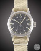"A GENTLEMAN'S BRITISH MILITARY VERTEX W.W.W. WRIST WATCH CIRCA 1940s, PART OF THE ""DIRTY DOZEN"","