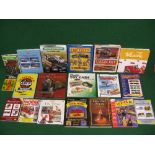 Box of collectors books and price guides for toys, kits, si-fi, model trains, soldiers,