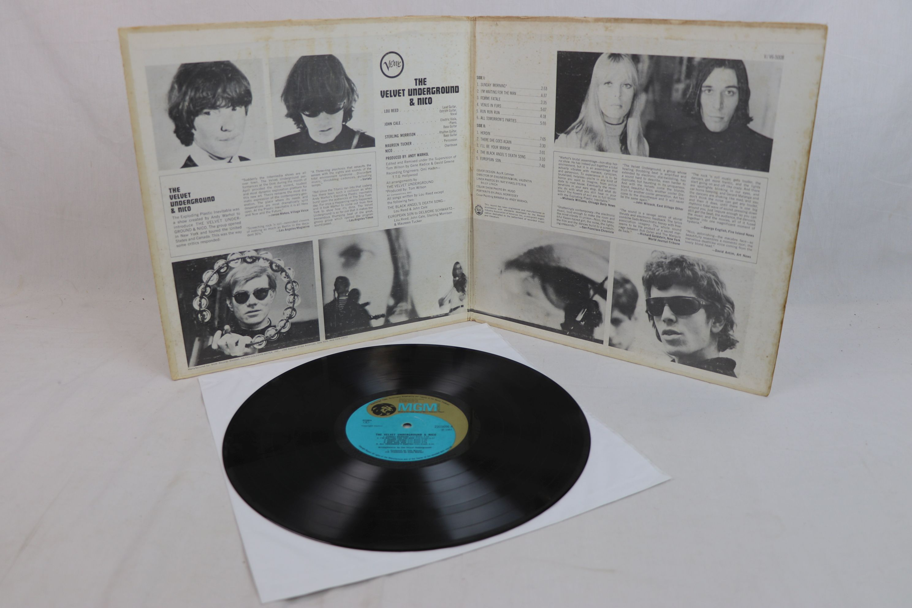 Vinyl The Velvet Underground Amp Nico On Verve 2315056