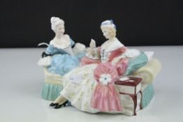 Royal Doulton Figure Group ' The Love Letter ' HN 2149