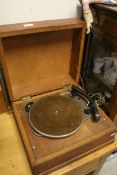 Mid 20th century Wooden Cased ' Garrard ' model TA Record Player
