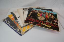 Vinyl - Nine later release The Beatles LPs to include Sgt Peppers on Capitol, Revolver, White