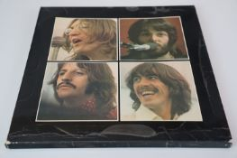 Vinyl - The Beatles Let It Be Box set with record and book, laminated cover, vg overall