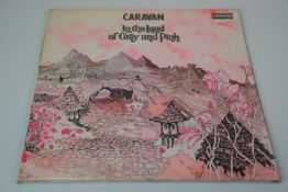 Vinyl - Caravan In The Land of Grey and Pink LP on Deram SDLR1 brown/white label, gatefold sleeve,