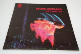 Vinyl - Black Sabbath Paranoid LP on Vertigo VO 6360 011 laminated sleeve, no Sampson credit, ex/ex