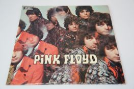 Vinyl - Pink Floyd The Piper at the Gates of Dawn LP on Columbia SX6157, blue Columbia text to