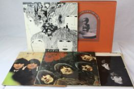 Vinyl - Four The Beatles LPs to include For Sale PMC1240 mono, Revolver PMC7009 mono, With The