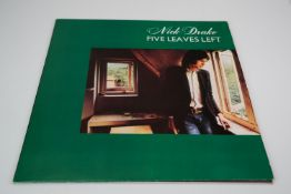 Vinyl - Nick Drake Five Leaves Left LP on Island ILPS9105, sleeves and vinyl vg++