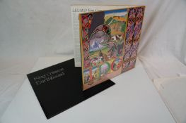 Vinyl - Two King Crimson LPs to include Lizard on Island ILPS9141 laminated gatefiold sleeve and
