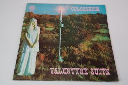 Vinyl - Colosseum Valentyne Suite LP on Vertigo VO1 with Phillips credit, swirl sleeve, vinyl ex,