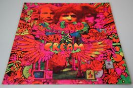 Vinyl - Cream Disreali Gears LP on Reaction 593003 mono, laminated sleeve sleeve and vinyl vg++,