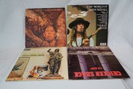 Vinyl - Four Blues / Rock LPs to include Ten Years After Cricklewood Green on Deram SML1065 Stereo