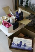 Three Boxed Royal Doulton Figurines, Three Boxed Nao Figures, Boxed Coalport Goblet, Boxed