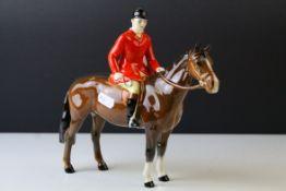 Beswick Huntsman (Standing), on Brown Horse, model no. 1501