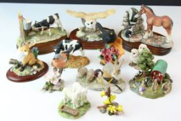 Collection of Border Fine Arts and other Model Animals and Birds including Border Fine Arts '