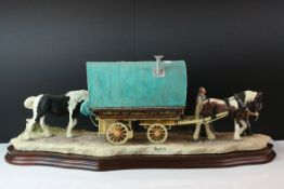Border Fine Arts 'Arriving at Appleby Fair', model No. B0402 by Ray Ayres, limited edition 3611/600,