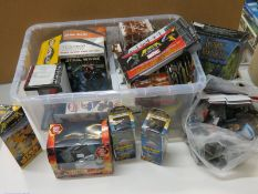 Large collection of assorted table top gaming pieces to include assorted Heroclix, Dreamblade, D&