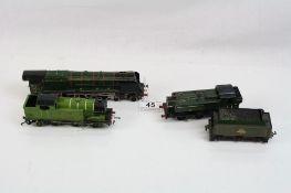 Three OO gauge diecast locomotives to include Hornby Dublo Duchess of Montrose, Hornby Dublo LNER