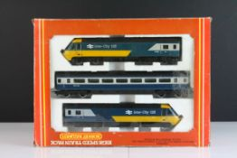 Boxed Hornby OO gauge R332 High Speed Train Pack, complete