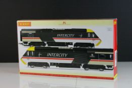 Boxed Hornby OO gauge R2702 DCC Ready BR Intercity Executive Class 43 HST, complete