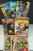 84 x comics, mostly Marvel & DC, to include Firestorm, Fantastic Four, Batman, etc. Conditions