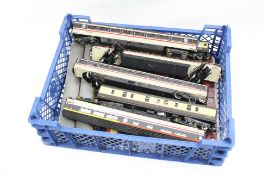 13 OO gauge items of rolling stock, all coaches, featuring Hornby and Lima