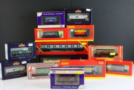 13 Boxed OO gauge items of rolling stock to include 6 x Hornby, 4 x Bachmann, 2 x Dapol and 1 x