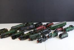 13 OO gauge Hornby & Triang locomotives to include 2 x Triang Princess Elizabeth, UUHornby LMS 16031