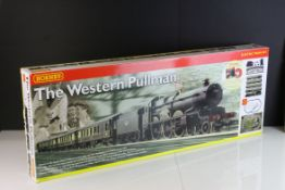 Boxed Hornby OO gauge R1048 Western Pullman electric train set, complete