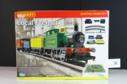 Boxed Hornby OO gauge R1085 Local Freight electric train set, complete and vg