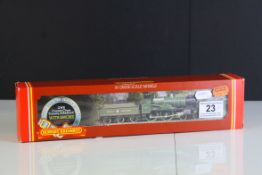 Two boxed Hornby OO gauge locomotives to include R392 GWR County Class Loco County of Bedford and