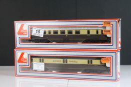 Two boxed Lima OO gauge locomotives to include 205132 MWG & 205143 MWG