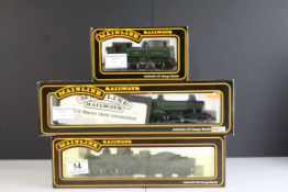 Three boxed Palitoy Mainline OO gauge locomotives to include 2301 Class (Dean Goods) 0-6-0 GWR