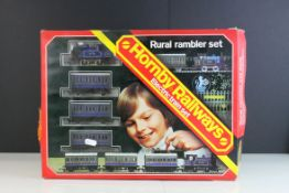 Boxed Hornby OO gauge R174 Rural Rambler Set, complete with 1977 catalogue