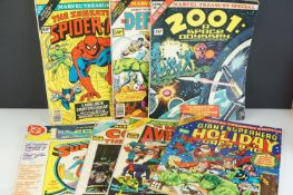 Comics - Six Marvel Treasury Specials composing of 2001: A Space Odyssey, The Defenders, Spider-Man,
