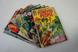 Comics - 10 x Marvel and DC Bronze Age comics to include Ghosts #27, The Shadow #5, Forever