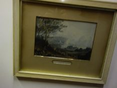 6 x Framed and glazed coloured prints each one depicting a 19 th century view of Hastings,
