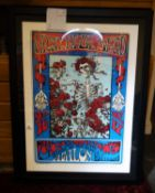 The Grateful Dead, a limited edition signed original lithographic print, with certificate of