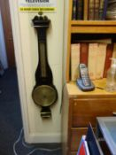 19 th century mahogany Barometer in need of attention, and restoration
