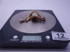 9ct GOLD jewellery h/m, 13 grams,