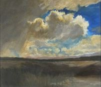Reginald James LLOYD (British 1926-2020) Dartmoor Cloud, Oil on board, Signed and dated 1963 lower