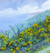 Joan SPEIGHT (British b. 1941)North Coast - Morvah, Acrylic on canvas, Signed and dated '10 lower