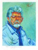 Rolf HARRIS (Australian 1930)Self Portrait II (a la Van Gogh), Giclee print, Signed and numbered