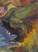 """Paul HOARE (British b. 1952)Lucifers' Cove, Acrylic on paper, Signed lower left, 11.5"""" x 8.75"""" ("""