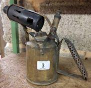 BRITISH MONITOR PARAFFIN BLOW LAMP