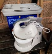 TESCO STAND MIXER NEW IN BOX & CUTLERY IN A TRAY