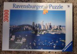 RAVENS BURGER 3000 PIECE PUZZLE OF SYDNEY HARBOUR BRIDGE & SURROUNDING AREA