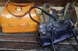 THREE ITALIAN STYLE LADIES HAND BAGS A/F