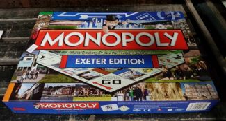 BOXED MONOPOLY SET OF THE EXETER EDITION